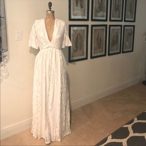 Hand made vintage wedding dress 💍
